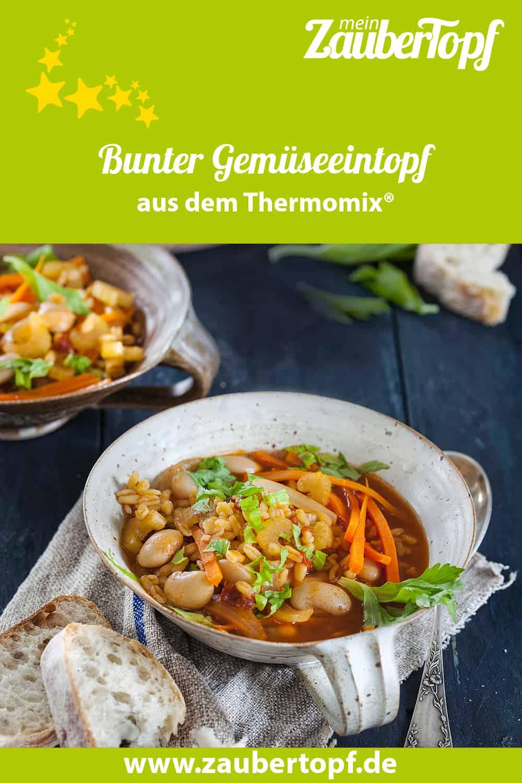 Bunter Gemüseeintopf aus dem Thermomix® - Foto: Frauke Antholz