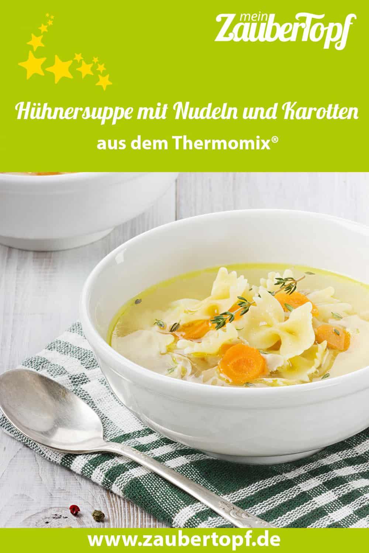 Hühnersuppe mit dem Thermomix® –Foto: shutterstock/Julia Sudnitskaya