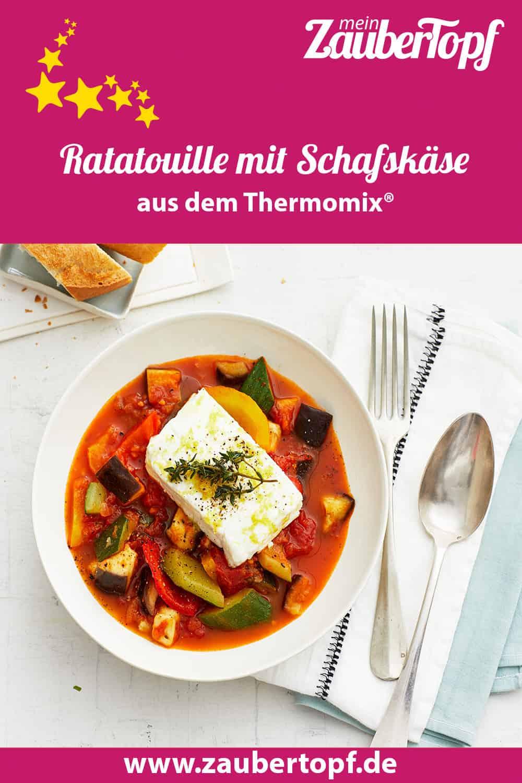 Ratatouille mit Schafskäse mit dem Thermomix® – Foto: Jorma Gottwald