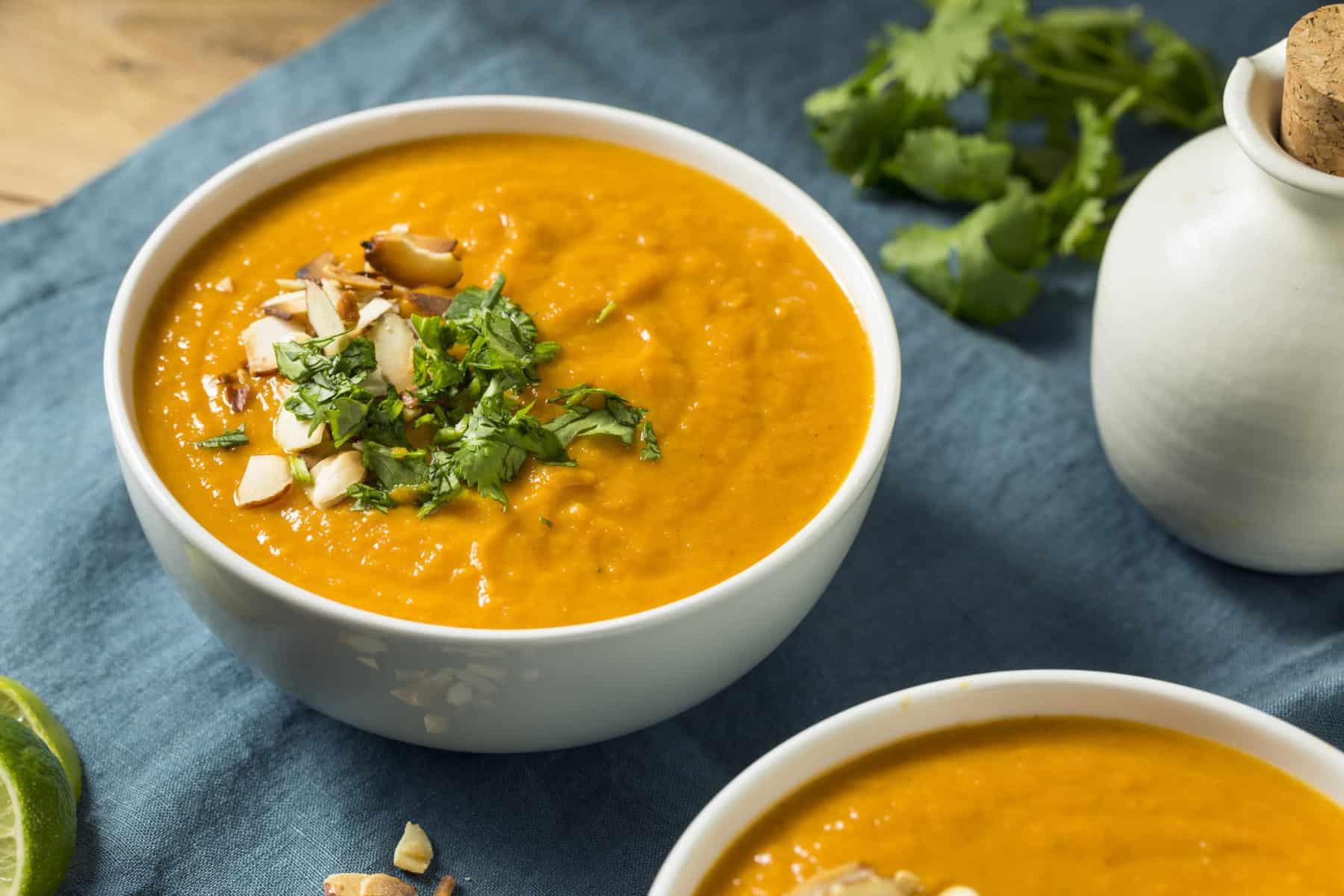 Süßkartoffel-Suppe mit dem Thermomix® –Foto: bhofack2/gettyimages