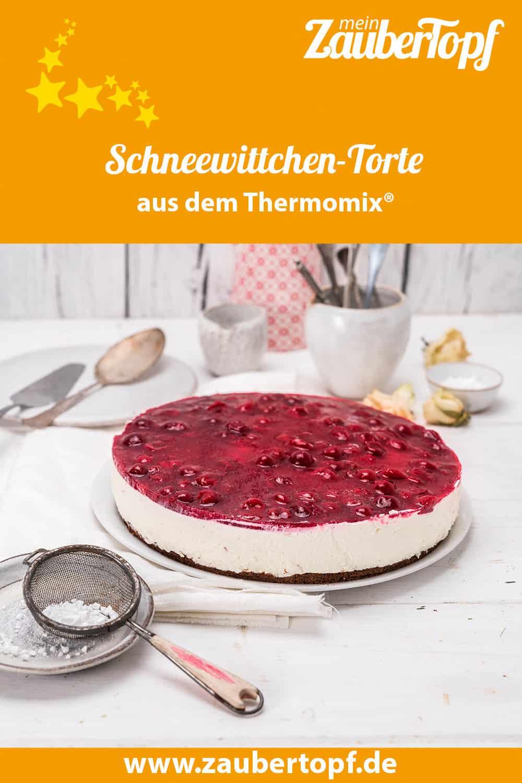 Schneewittchen-Torte mit dem Thermomix® –Foto: Tina Bumann