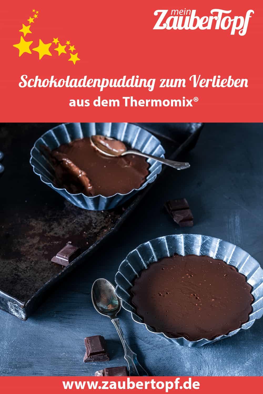 Schokoladenpudding zum Verlieben aus dem Thermomix® - Foto: Tina Bumann