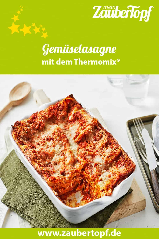 Gemüselasagne mit dem Thermomix® –Foto: Jorma Gottwald