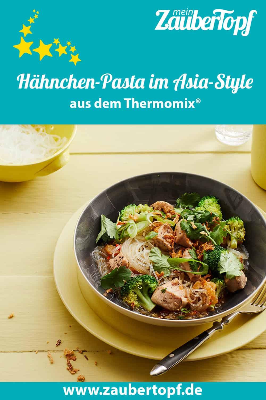 Hähnchen-Pasta im Asia-Style aus dem Thermomix® – Foto: Jorma Gottwald