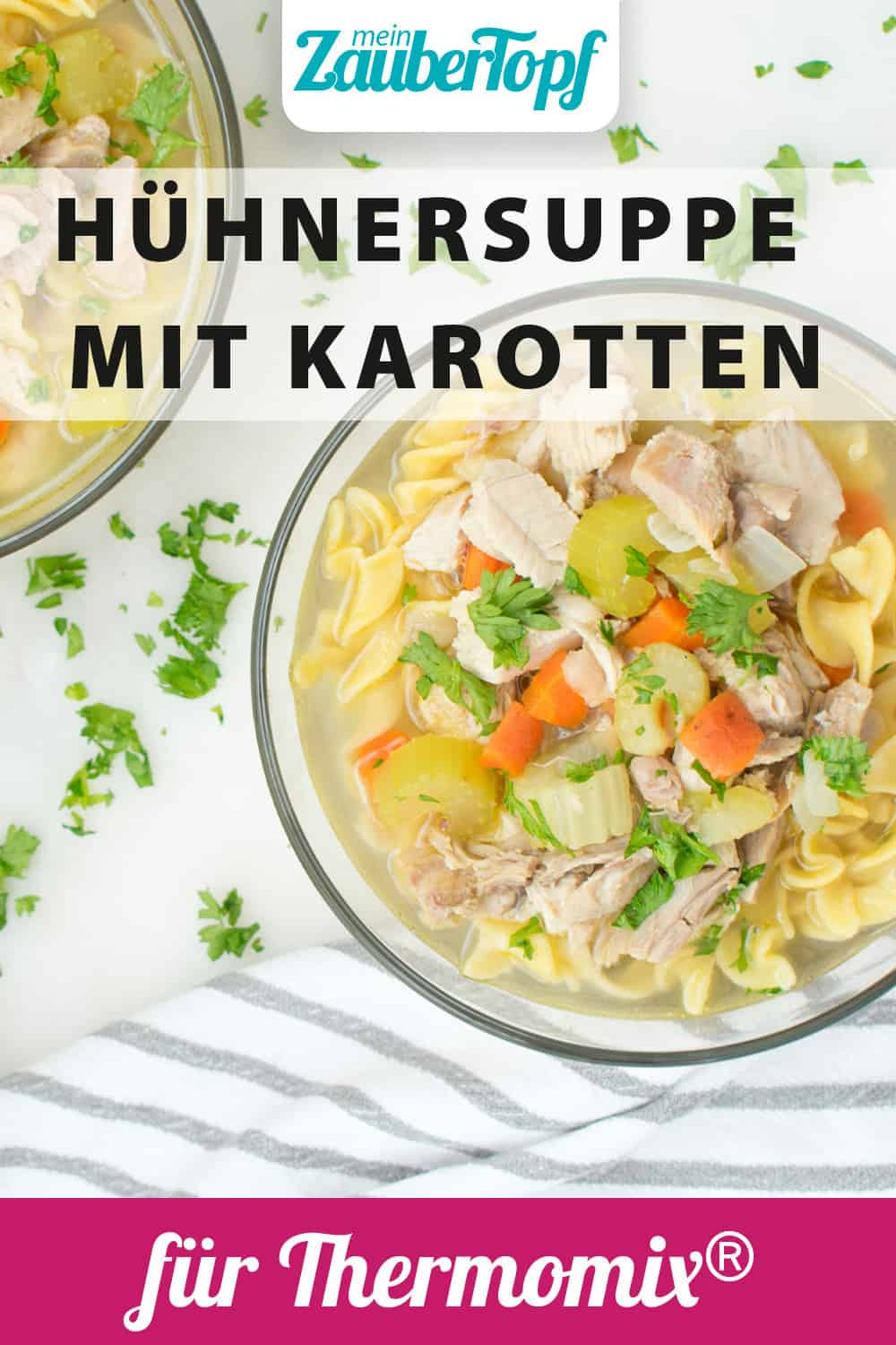 Hühnersuppe mit dem Thermomix® –Foto: gettyimages / Candice Bell