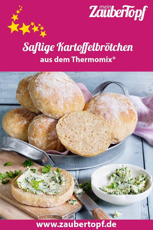 Saftige Kartoffelbrötchen aus dem Thermomix® - Foto: Frauke Antholz