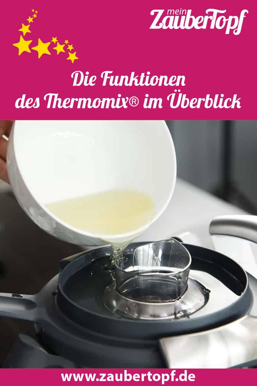 Die Funktionen des Thermomix® im Überblick – Thermomix® –Foto: Anna Gieseler