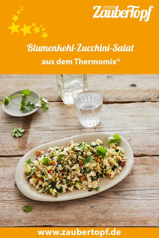 Blumenkohl-Zucchini-Salat aus dem Thermomix® - Foto: Jorma Gottwald