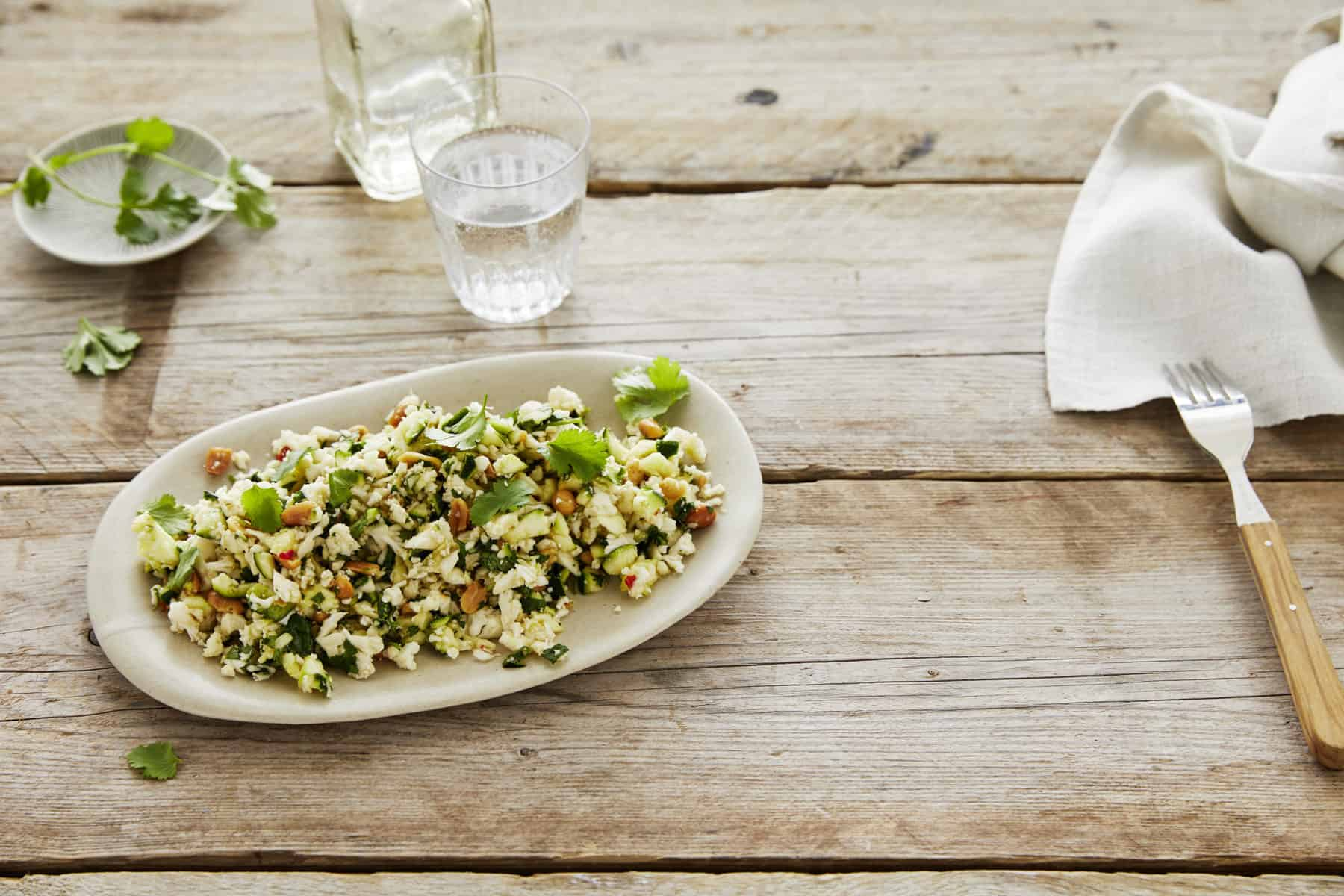 Blumenkohl-Zucchini-Salat aus dem Thermomix® – Foto: Jorma Gottwald