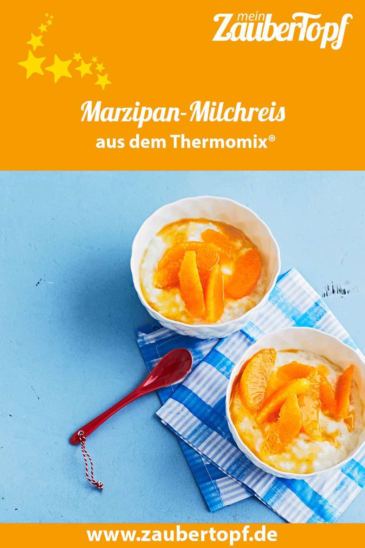 Marzipan-Milchreis mit dem Thermomix® –Foto: Jorma Gottwald