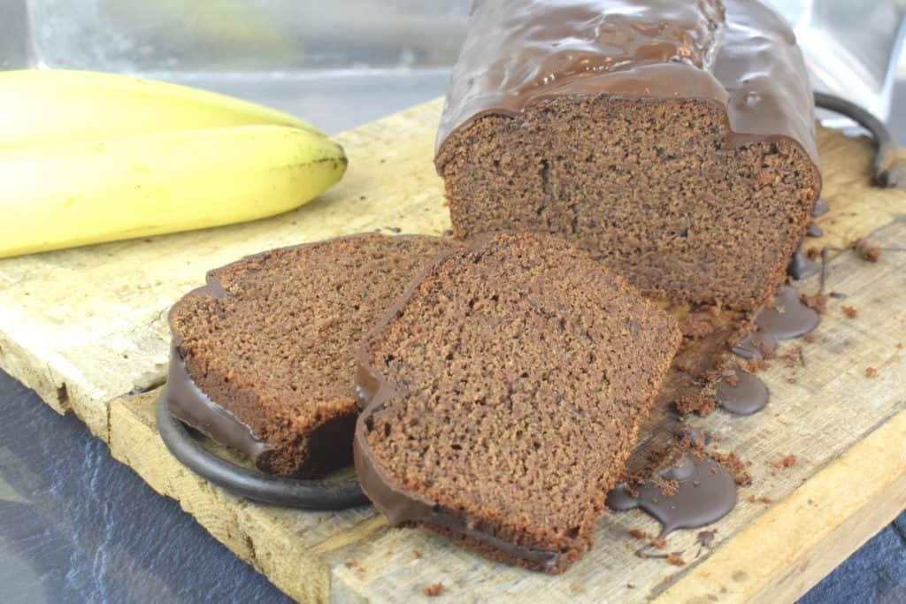 Veganer Schoko-Bananen-Kuchen mit dem Thermomix® –Foto: Nicole Stroschein