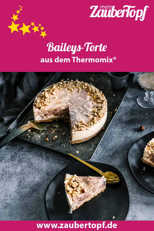 Baileys-Torte mit dem Thermomix® – Foto: Tina Bumann