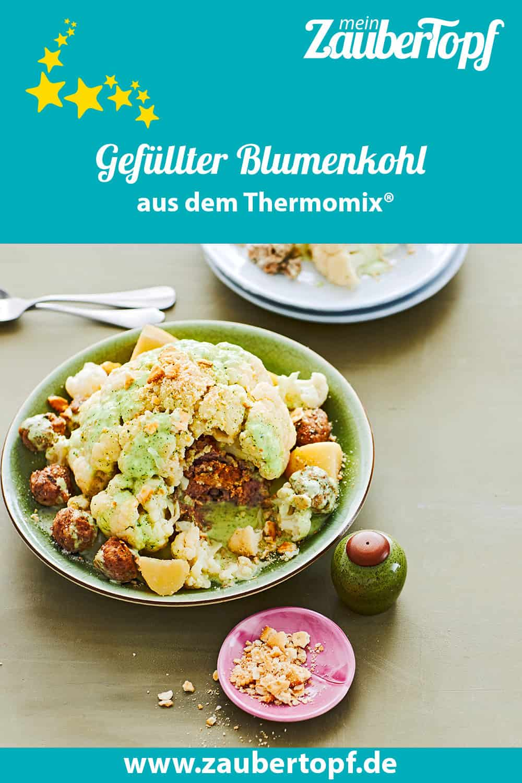 Gefüllter Blumenkohl oder auch schöne Melusine aus dem Thermomix® - Foto: Jorma Gottwald