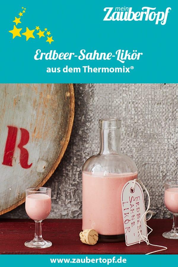Erdbeer-Sahne-Likör aus dem Thermomix® – Foto: Jorma Gottwald