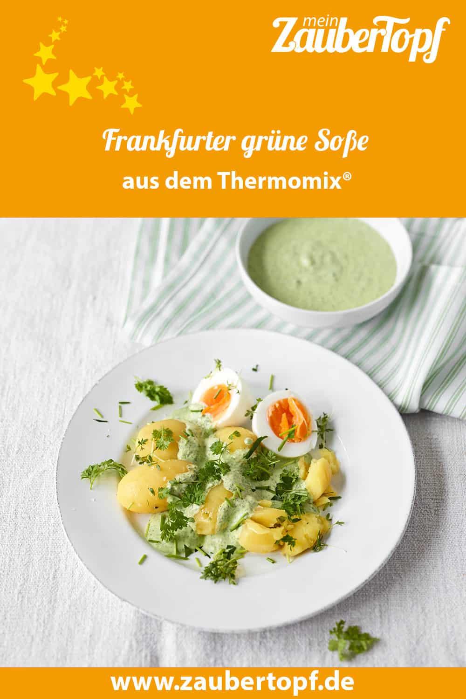 Frankfurter grüne Soße mit Kartoffeln und Ei aus dem Thermomix® - Foto: Matthias Haupt