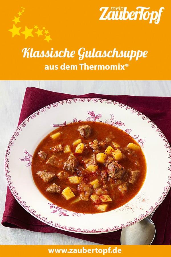 Gulaschsuppe mit dem Thermomix® – Foto: Matthias Haupt