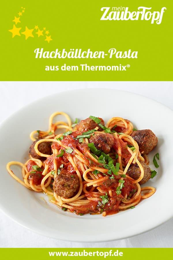 Hackbällchen-Pasta mit dem Thermomix® –Foto: Matthias Haupt