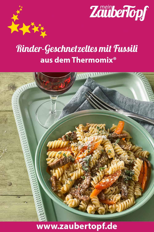 Rinder-Geschnetzeltes mit Fussili aus dem Thermomix® - Foto: Thomas Neckermann