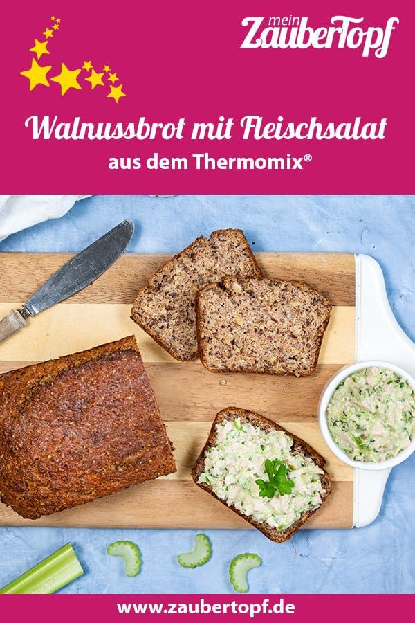Walnussbrot mit Fleischsalat aus dem Thermomix® – Foto: Kathrin Knoll