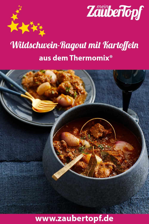 Wildschwein-Ragout mit Kartoffeln aus dem Thermomix® - Foto: Jorma Gottwald