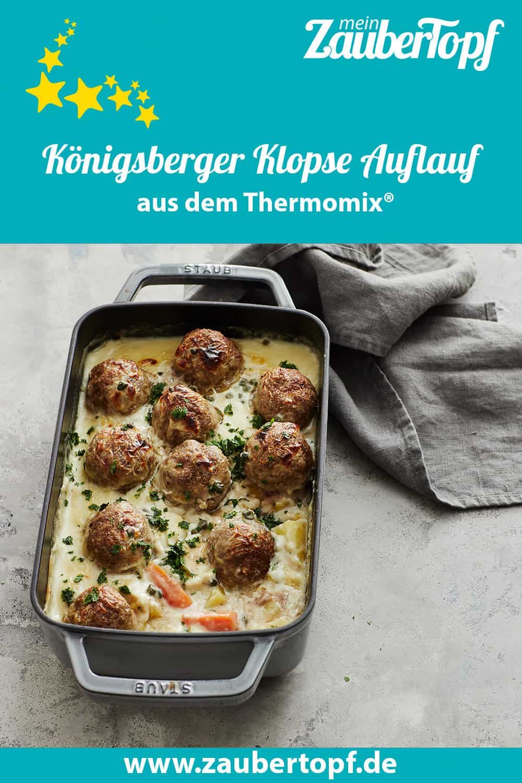 Königsberger Klopse Auflauf aus dem Thermomix® - Foto: Jorma Gottwald