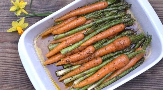 Karotten-Spargel-Antipasti mit dem Thermomix® – Foto: Nicole Stroschein