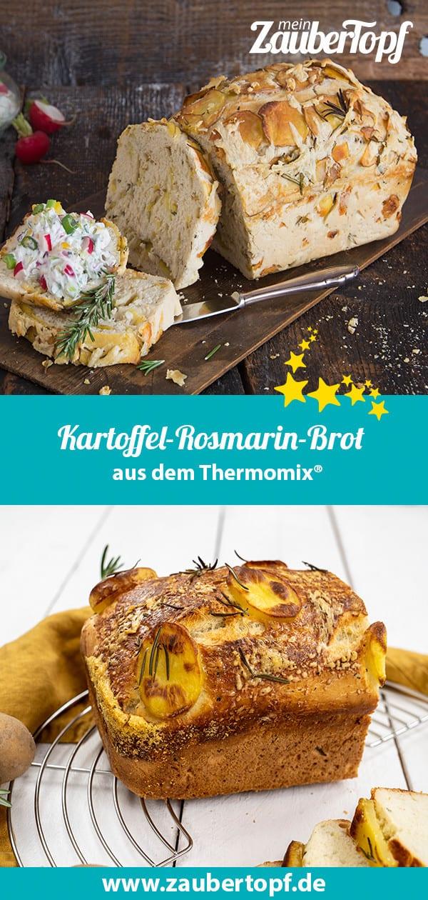 Kartoffel-Rosmarin-Brot aus dem Thermomix® - Foto: Florentina Klampferer / Morten Looft