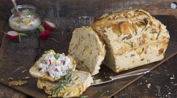 Kartoffel-Rosmarin-Brot mit dem Thermomix® –Foto: Florentina Klampferer
