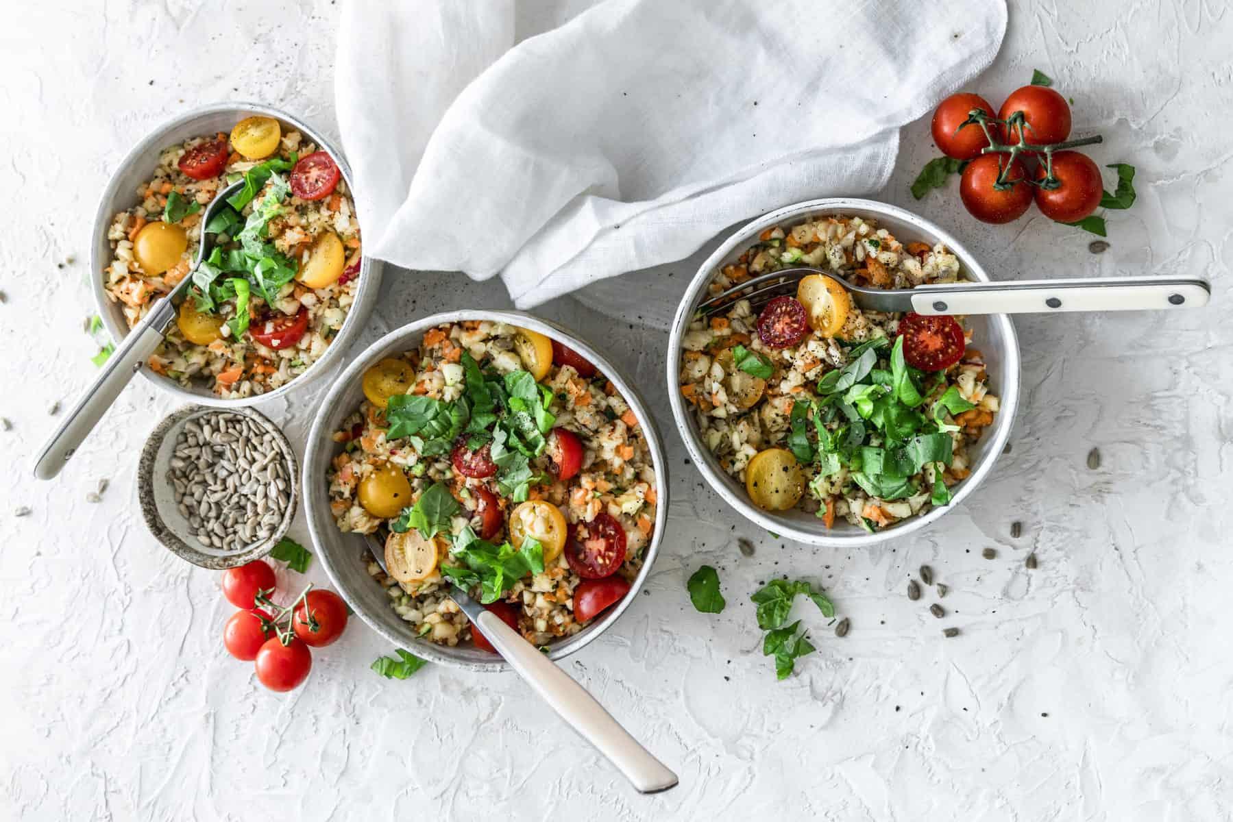 Ratz-Fatz-Gemüsesalat mit dem Thermomix® –Foto: Tina Bumann