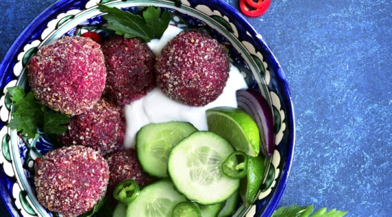 Rote-Bete-Falafel mit dem Thermomix® –Foto: gettyimages/Lilechka75