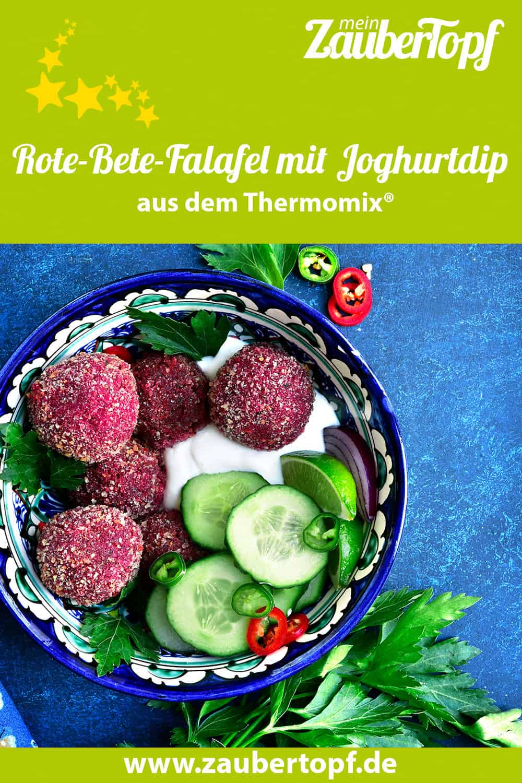 Rote-Bete-Falafel mit Joghurtdip aus dem Thermomix® - Foto: gettyimages/Lilechka75