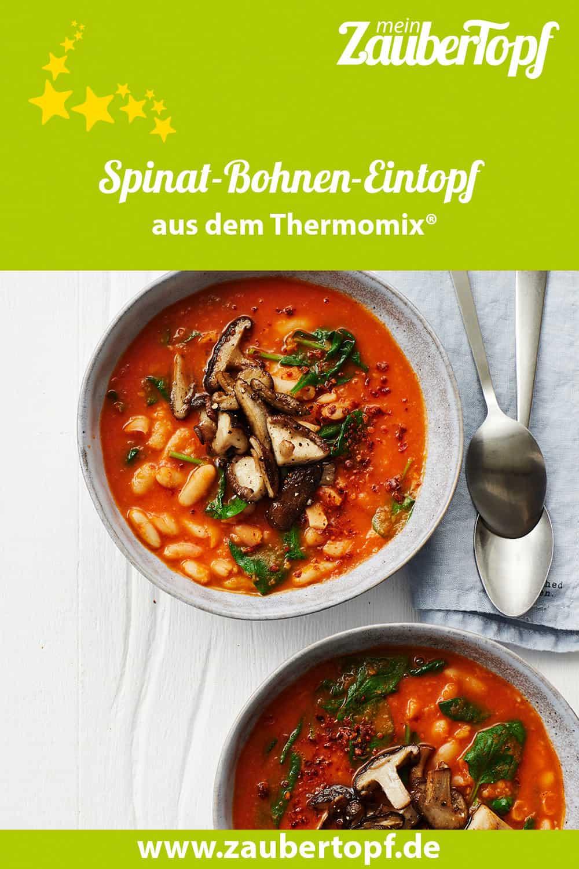 Spinat-Bohnen-Eintopf mit dem Thermomix® –Foto: Jorma Gottwald