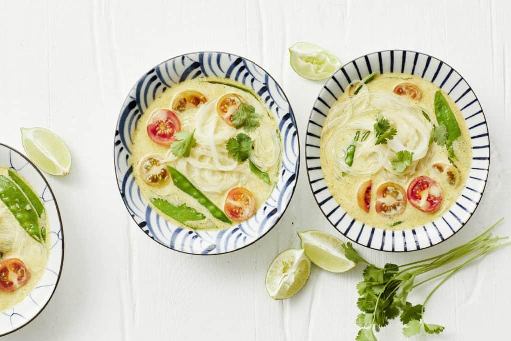 Thai-Curry-Suppe mit Glasnudeln aus dem Thermomix® - Foto: Jorma Gottwald
