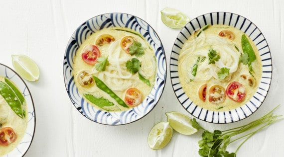 Thai-Curry-Suppe mit Glasnudeln aus dem Thermomix® - Foto: Jorma Gottwald