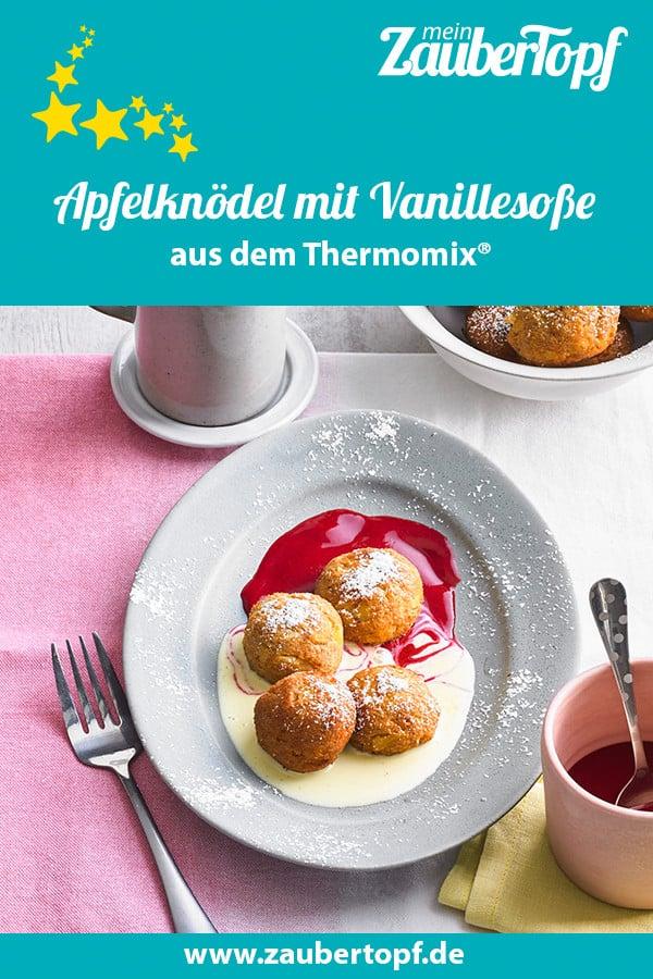 Apfelknödel mit dem Thermomix® – Foto: Thomas Neckermann