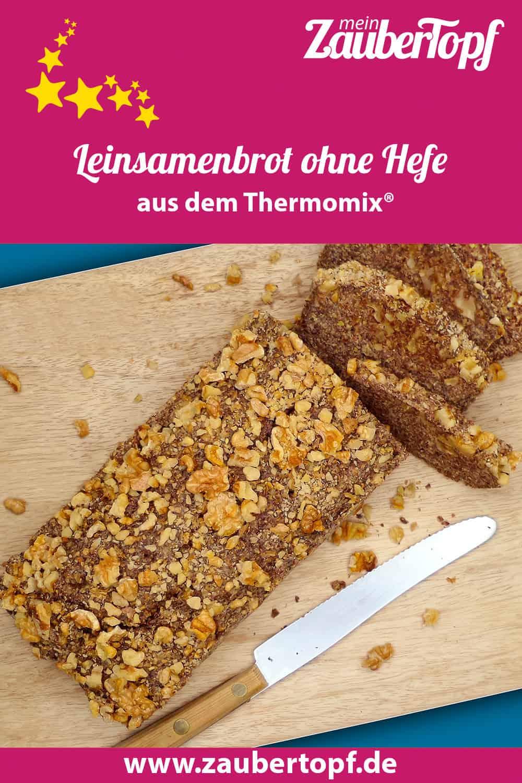 Leinsamenbrot ohne Hefe aus dem Thermomix® - Foto: Friederike Fänger