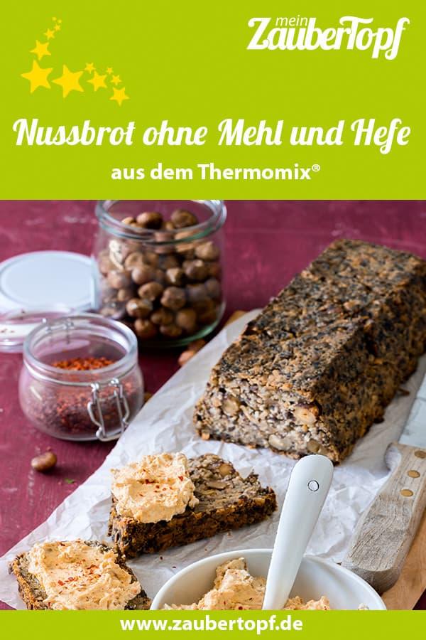 Nussbrot ohne Mehl und Hefe mit dem Thermomix® – Foto: Tina Bumann