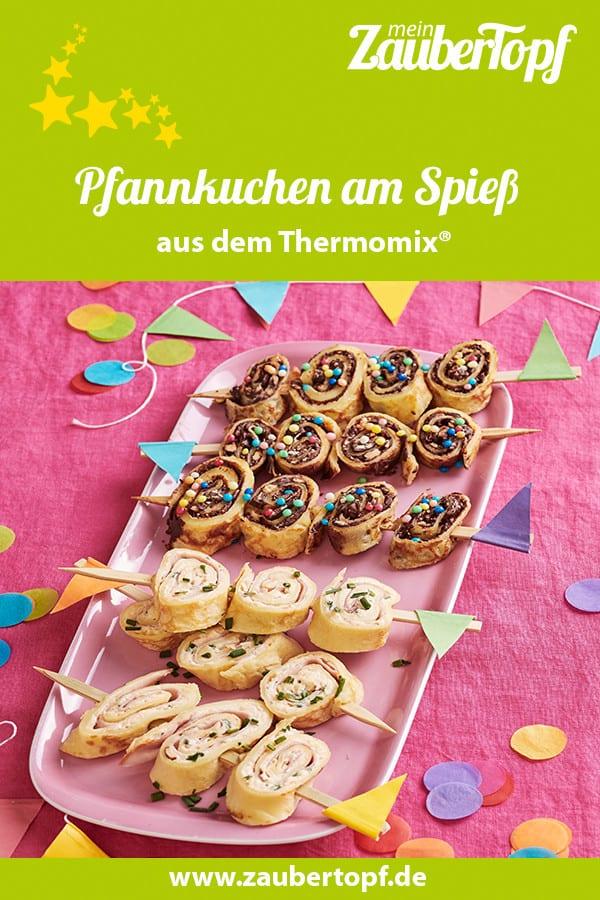 Pfannkuchen am Spieß mit dem Thermomix® –Foto: Jorma Gottwald