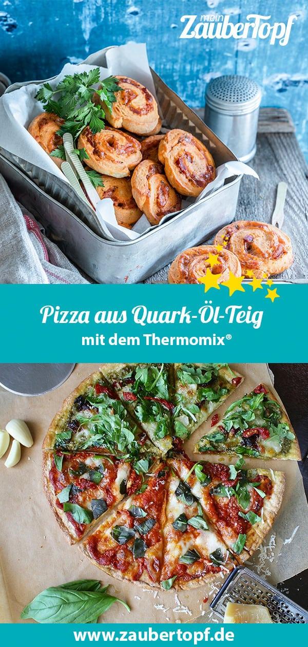 Pizza aus Quark-Öl-Teig mit dem Thermomix® - Foto: Tina Bumann / Pixabay