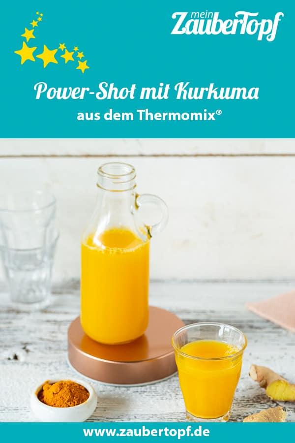 Power-Shot mit Ingwer und Kurkuma aus dem Thermomix® –Foto: Kathrin Knoll