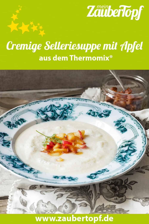 Cremige Selleriesuppe mit Apfel aus dem Thermomix® - Foto: Frauke Antholz