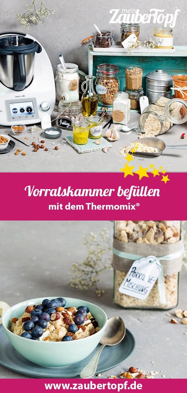 Vorratskammer, Thermomix® – Foto: Anna Gieseler