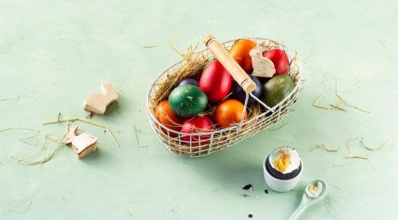 Eier färben und kochen im Thermomix® –Foto: falkemedia