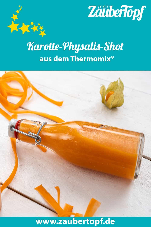 Karotte-Physalis-Shot aus dem Thermomix® - Foto: Morten Looft