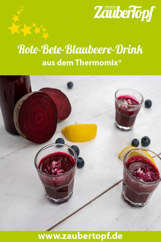 Rote-Bete-Blaubeere-Drink aus dem Thermomix® - Foto: Morten Looft
