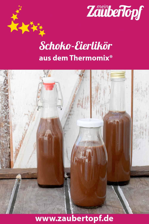 Schoko-Eierlikör aus dem Thermomix® - Foto: Nicole Stroschein