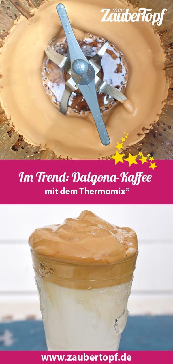 Dalgona-Kaffee mit dem Thermomix® – Foto: Nicole Stroschein