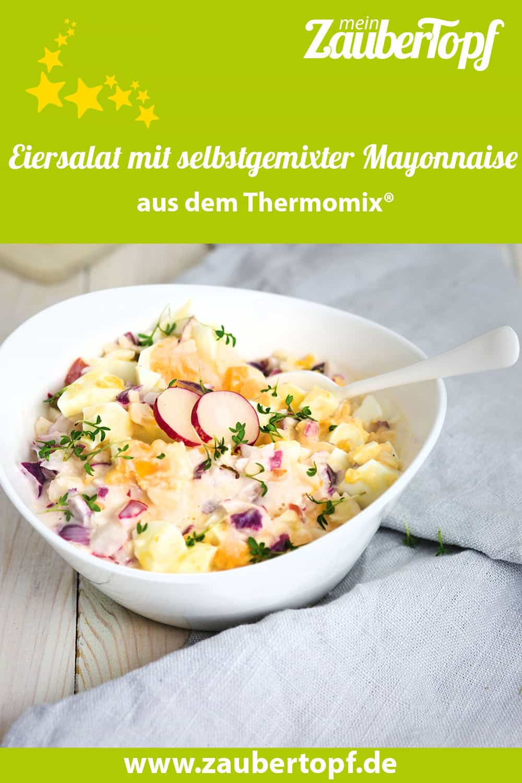 Klassischer Eiersalat mit selbstgemixter Mayonnaise- Foto: Désirée Peikert