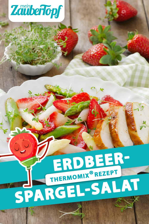 Erdbeer-Spargel-Salat mit dem Thermomix® –Foto: Frauke Antholz