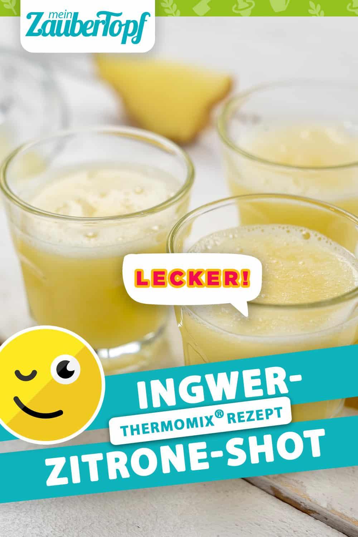 Ingwer-Zitrone-Shot aus dem Thermomix® - Foto: Morten Looft